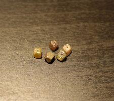 100/% Natural Suelto diamantes en bruto 5 Lote Blanco Redondeado mezclados los monitores CRT 2.60mm Raw