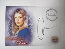 Buffy Tvs - Wos - Amber Benson As Tara Autograph Card A2 - Bv$60