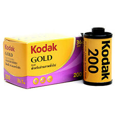 5 x KODAK GOLD 200 Color Plus 35mm 36 Exp. Colors Negative Film i