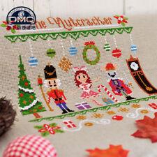 The nut cracker finished cross stitch Christmas tree wreath bell xmas handicraft