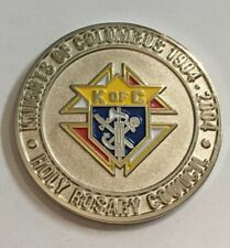 2004 100 Years Grand Knights Of Columbus Holy Rosary Council Coin Hbg Pa C23