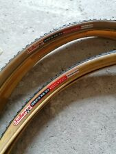 Pair of Challenge Grifo XS33 cyclo-cross / gravel 700c clincher bicycle tyres