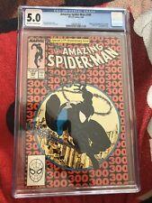 Amazing Spider-man #300 0rigin & 1st full app of venom cgc 5.0 Marvel comics