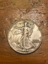 1942 50C Walking Liberty Half DollarAU+