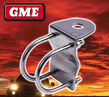 GME 38-55MM BULL BAR MOUNTING BRACKET ANTENNA UHF CB STAINLESS MB024SS