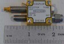 Wiltron Coupler D18340 26 GHz