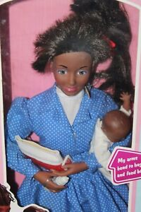 Boxed TOOTSIE TOY The Original Mommy Doll BLACK DOLL lot m