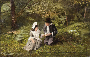 """Lorna Doone """"Oh You Crafty Master Ridd"""" Picture Play Postcard (A6)"""