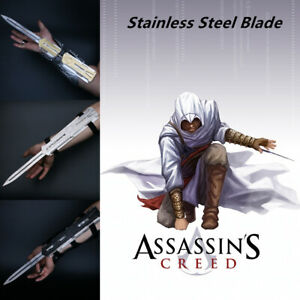 Assassin's Creed Hidden Sleeve Arrow ALL Metal Uncut Blade Wire-controlled Eject