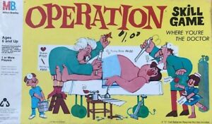 Vintage 1965 Operation Smoking Doctor Complete
