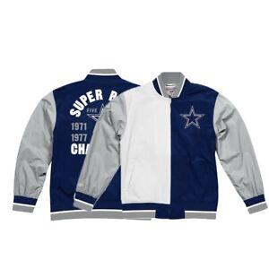 Dallas Cowboys NFL Mitchell & Ness Men's Blue Men Jacket