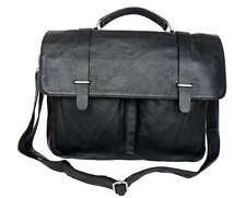 Men's Leather Shoulder Messenger Satchel Bag