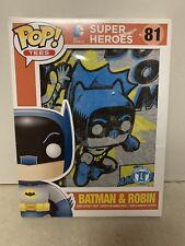 Pop! Tees Batman & Robin New Short Sleeve T-Shirt Exclusive Unisex L Large. New
