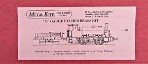 7mm Scale LMS/BR ex CR  'Pug' 0-4-0ST & tender kit