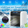 USB Rechargeable Air Conditioner Cooler Cooling Fan Mini Desk Cube Water yy