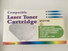 NT-C115X   Black Laser Toner Cartridge For HP LaserJet 1000/1005W/1200 NEW