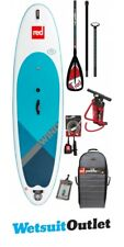 2018 Red Paddle Co WindSUP 10'7 Inflatable Stand Up Paddle Board + Bag, Pump, Pa