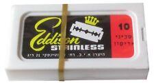 100 Personna Eddison Stainless double edge razor blades