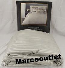 Donna Karan Reflection FULL / QUEEN Duvet Cover Silver