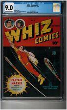 Whiz Comics #69 CGC 9.0 - HIGH GRADE Golden Age Captain Marvel