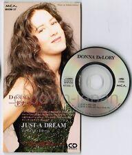 "DONNA DE LORY Just A Dream JAPAN 3"" CD SINGLE MVDM-37 UNSNAPPED Madonna Free S&H"