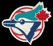 "1990'S ERA TORONTO BLUE JAYS MLB BASEBALL 6"" JERSEY FRONT TEAM LOGO PATCH"