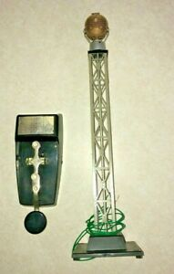 Postwar Lionel Code Transmitter Beacon Set #299 with Repro Instructions