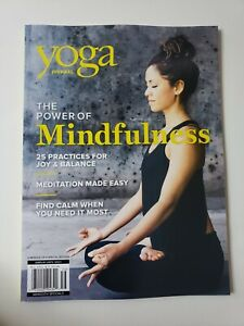 YOGA JOURNAL MARCH 2021 BRAND NEW MAGAZINE THE POWER OF MINDFULNESS - JOY