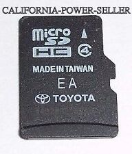2014 2015 Toyota 4Runner RAV4 Limited XLE Navigation Micro SD HC Card Map