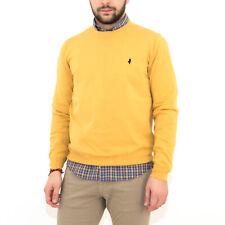Maglia girocollo MCS Marlboro Classics uomo in cotone maglione paricollo MCS10