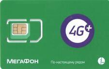 MegaFon - Russian SIM card with worldwide roaming