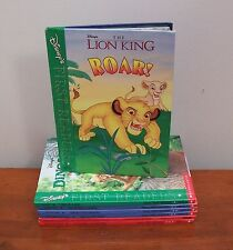 Lot of 7 Disney's First Readers Level 1 2 & 3 The Lion King Toy Story Aladdin
