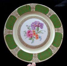 "10.75"" P.T. Bavaria TIRSCHENREUTH Decorative Flowers PLATE Porcelain Peony"