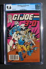 G.I. JOE IN 3-D #1 Blackthorne 3-D #20 Comic 1987 Raptor Cobra Zombies CGC 9.6