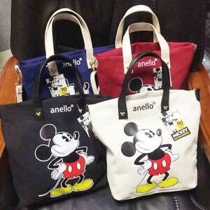 Lady Girl Women Disney Anello Mickey Mouse Shoulder Bag Messenger Bags Handbag