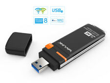 Adattatore Wireless USB3.0 Wavlink AC1300 Dual Band, Dongle USB Wifi con WPS