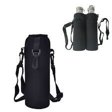 1L Water Bottle Carrier Insulated Cover Bags Holder With Strap Pouch Outdoor HOT