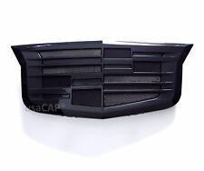 """Cadillac Black Front Grille Badge Emblem ATS ELR XTS 3.5""""x8.5"""", 23157689"""