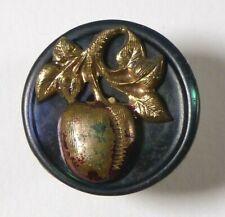 Bouton ancien - Nacre - fin XIXe - 18 mm - Vintage MOP Button