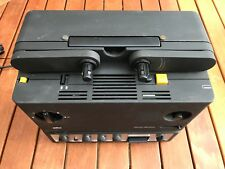 Braun Super 8mm Filmprojektor visacustic 1000 stereo mit Lautsprecher und Zubeh.