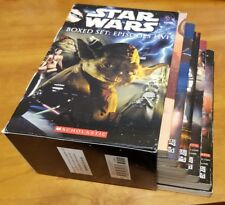 Star Wars: Episodes I-VI Boxed Set (Paperback Books, Movie Novelization) kids