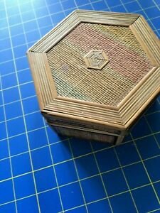 Set of Two Nesting Boxes - Bamboo Six Sided