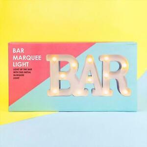 Fizz Creations Marquee Bar Light - Light up Sign, Home bar pub cocktail garden