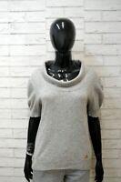 CERRUTI Maglione in Cashmere Donna Taglia L Pullover Sweater Man Maglia Grigia