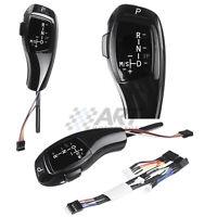 Palanca de cambio automático para Bmw E90 E91 pomo tipo Joystick led color negro