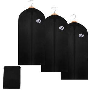 1-10x Kleidersack mit Schuhtasche PROFI Größe wählbar Kleiderhülle Schutzhülle