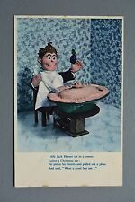 R&L Postcard: JA Dixon Nursery Rhyme Little Jack Horner, Toy Doll, Xmas Pie