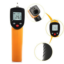 LASER IR IFRARED SIMPLE TEMPERATURE CHECK TEST METER THERMOMETER HOME GARAGE