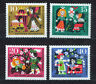 ALEMANIA/RFA WEST GERMANY 1964 MNH SC.B400/B403 Sleeping Beauty