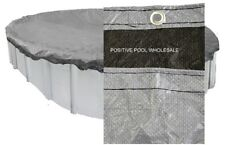 15'x26'Oval Above Ground Pool Winter Cover 15 YR WARRANTY 4 FT OVERLAP